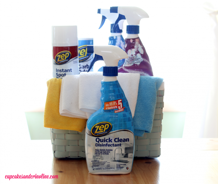 Zep Commercial Quick Clean Disinfectant - 25 Things You Should Be disinfecting but probably aren't ~ a list of germ-filled household items from cupcakesandcrinoline.com