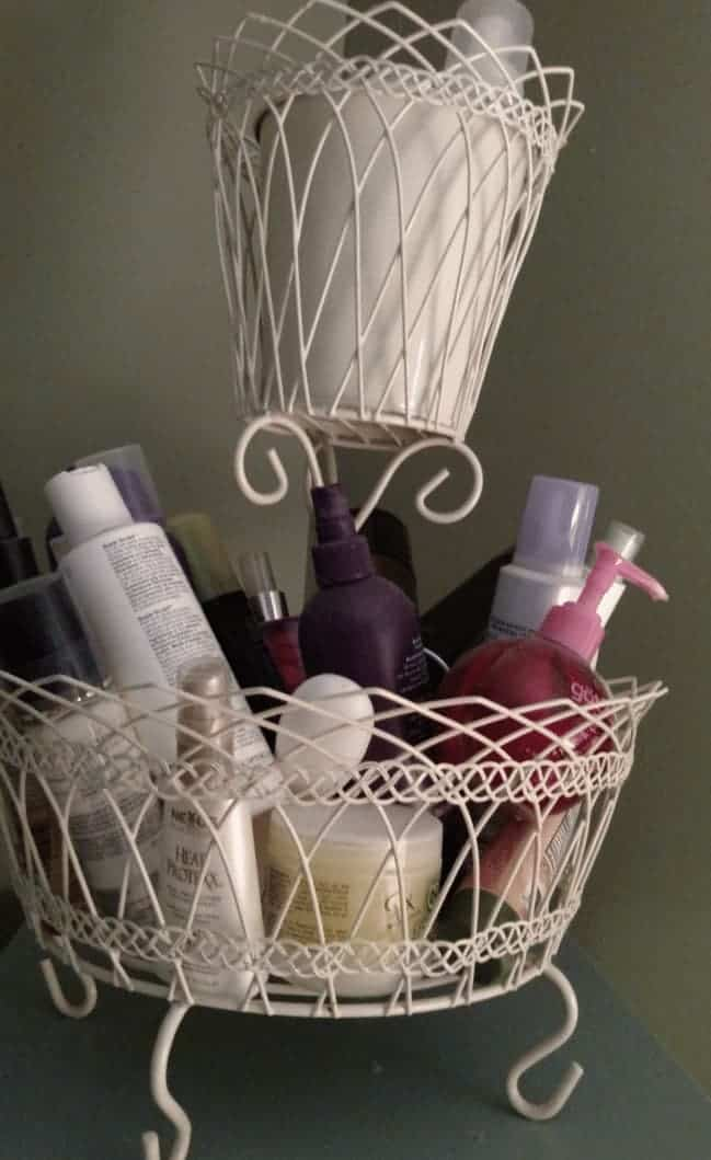 Hair Products and Hair Styling Items #decluttering #sparkingjoy