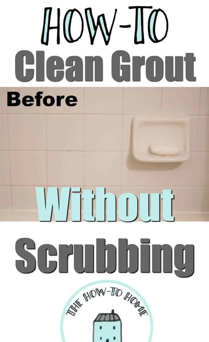 The Easiest Way To Clean And Whiten Grout Without Scrubbing The - Fastest way to clean a bathroom