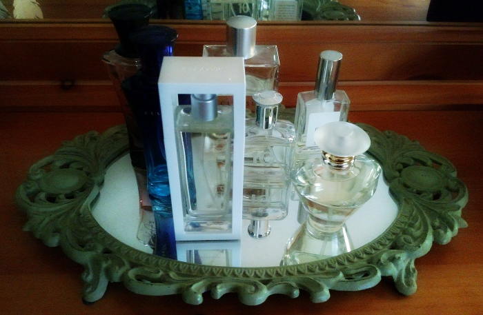 The Life Changing Magic Oof Tidying Up #KonMari #SparkingJoy perfume at cupcakesandcrinoline@gmail.com