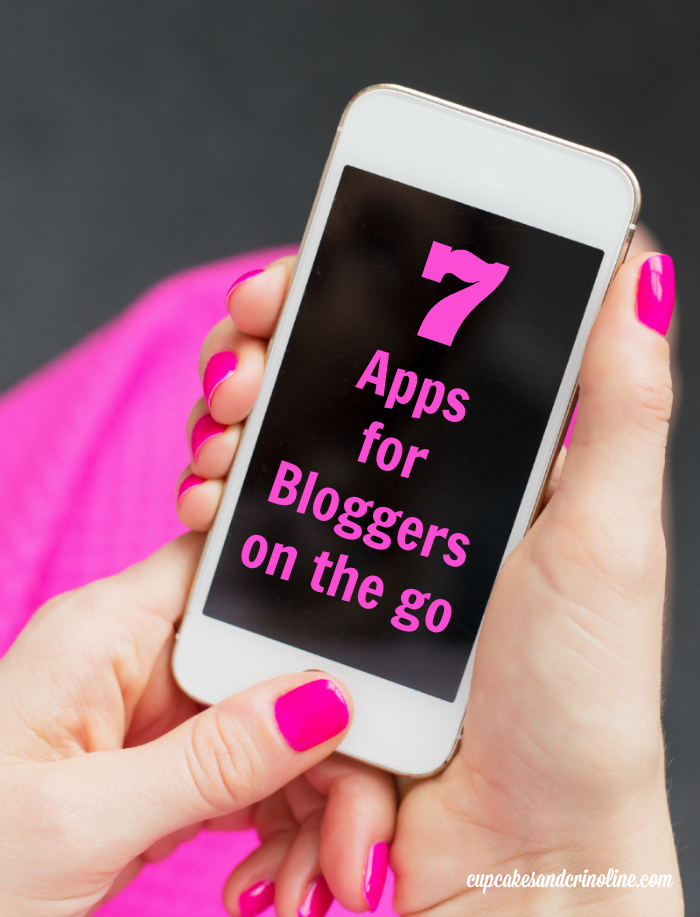 7 apps for bloggers on the go