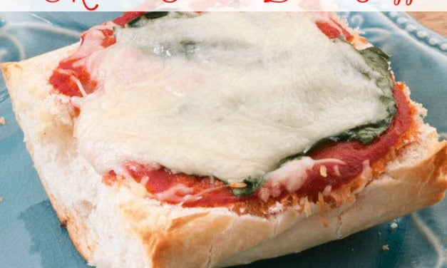 Busy Mom's French Bread Pizza