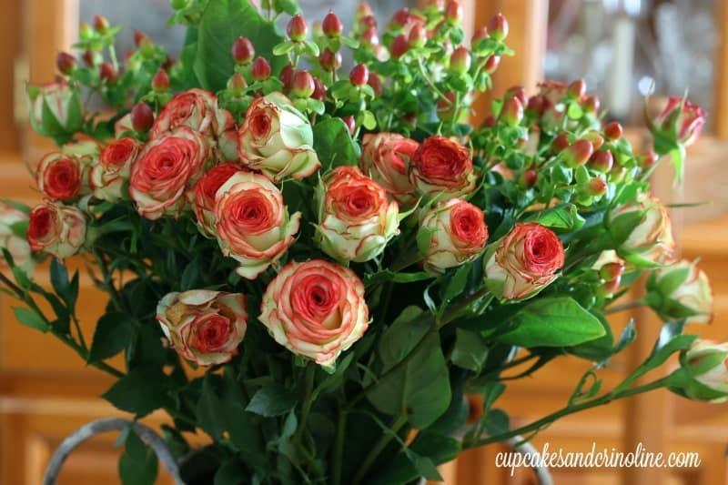 Easy Autumn Floral Arrangement