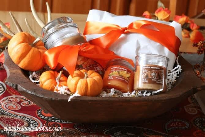 DIY Hostess Gift in a vintage reproduction dough bowl - cupcakesandcrinoline.com