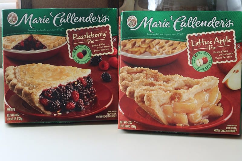 Marie Callender's Razzleberry and Lattice Apple Pies at Walmart