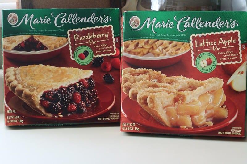 Marie Callender's Razzleberry and Lattice Apple Pies at Walmart