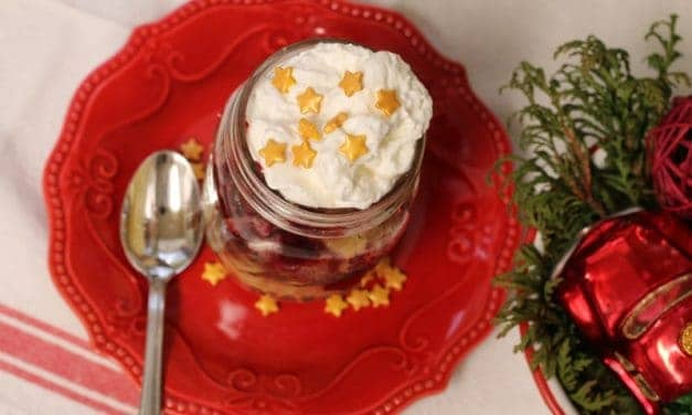 Deconstructed Pie and Cupcake Dessert