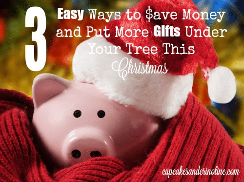 3 Easy Ways to Save Money This Christmas