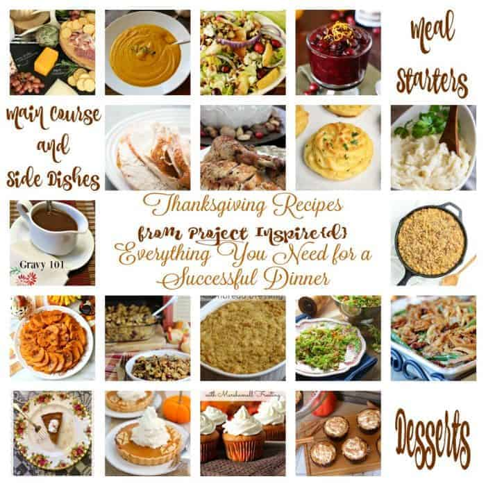 Thanksgiving Dinner Recipes from Project Inspire{d}