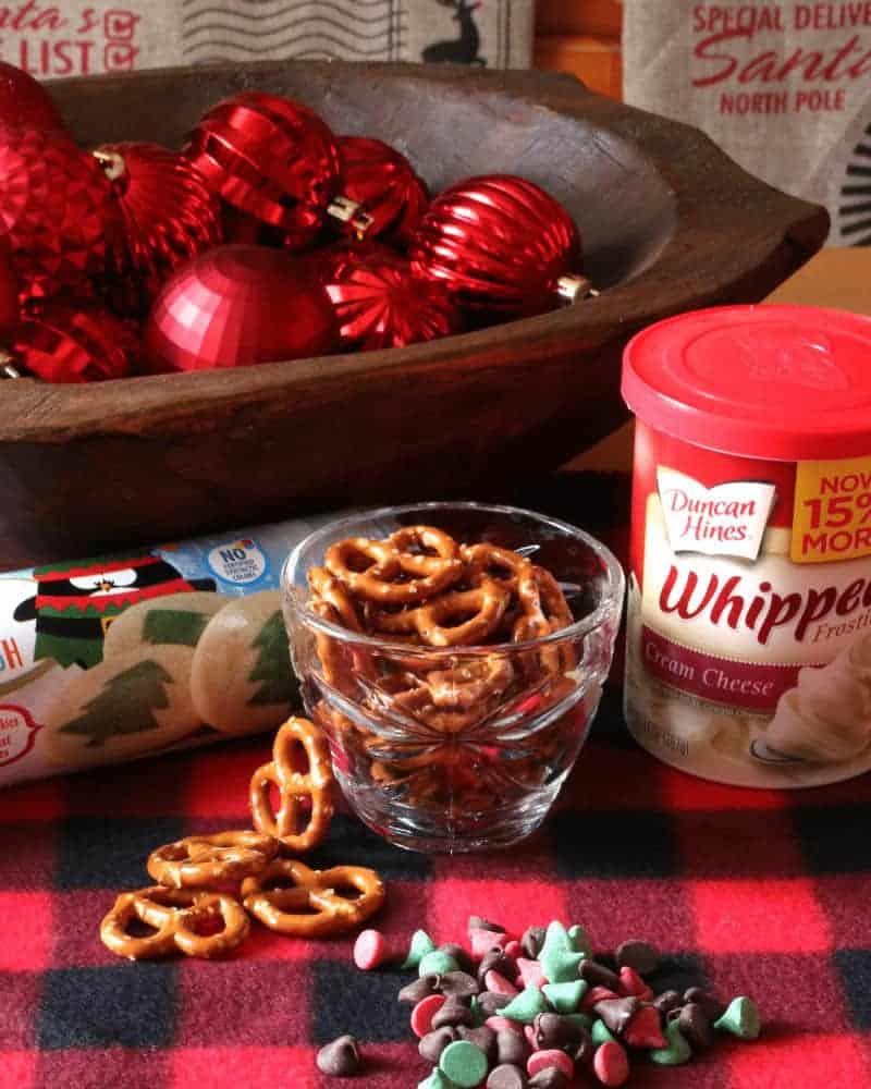 Cute Reindeer Cookie Ingredients