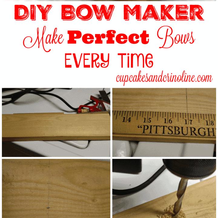 DIY Decorative Bow Maker