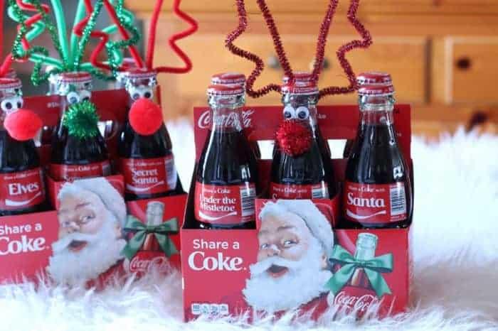 Pop Bottle Reindeer
