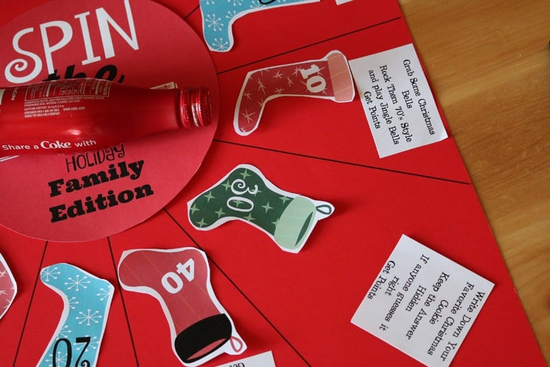 Family Game Night – DIY Spin the Bottle Holiday Edition