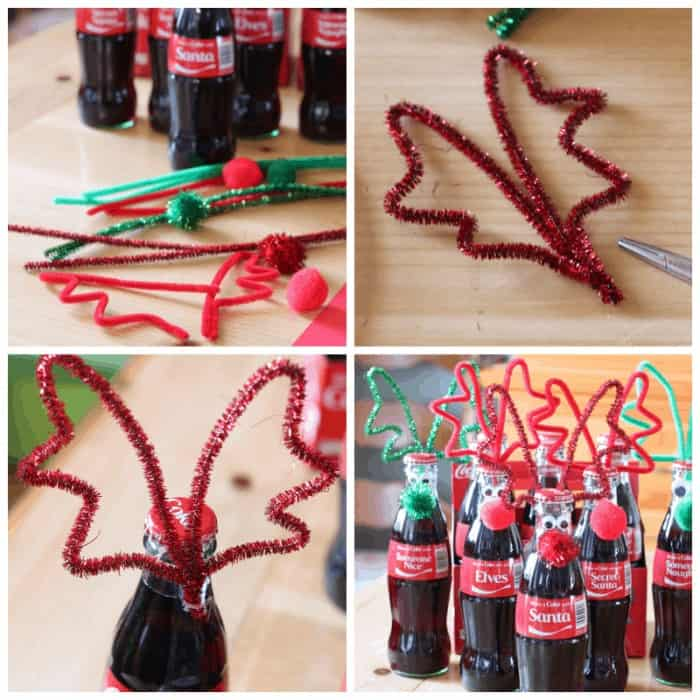 Pop Bottle Reindeers