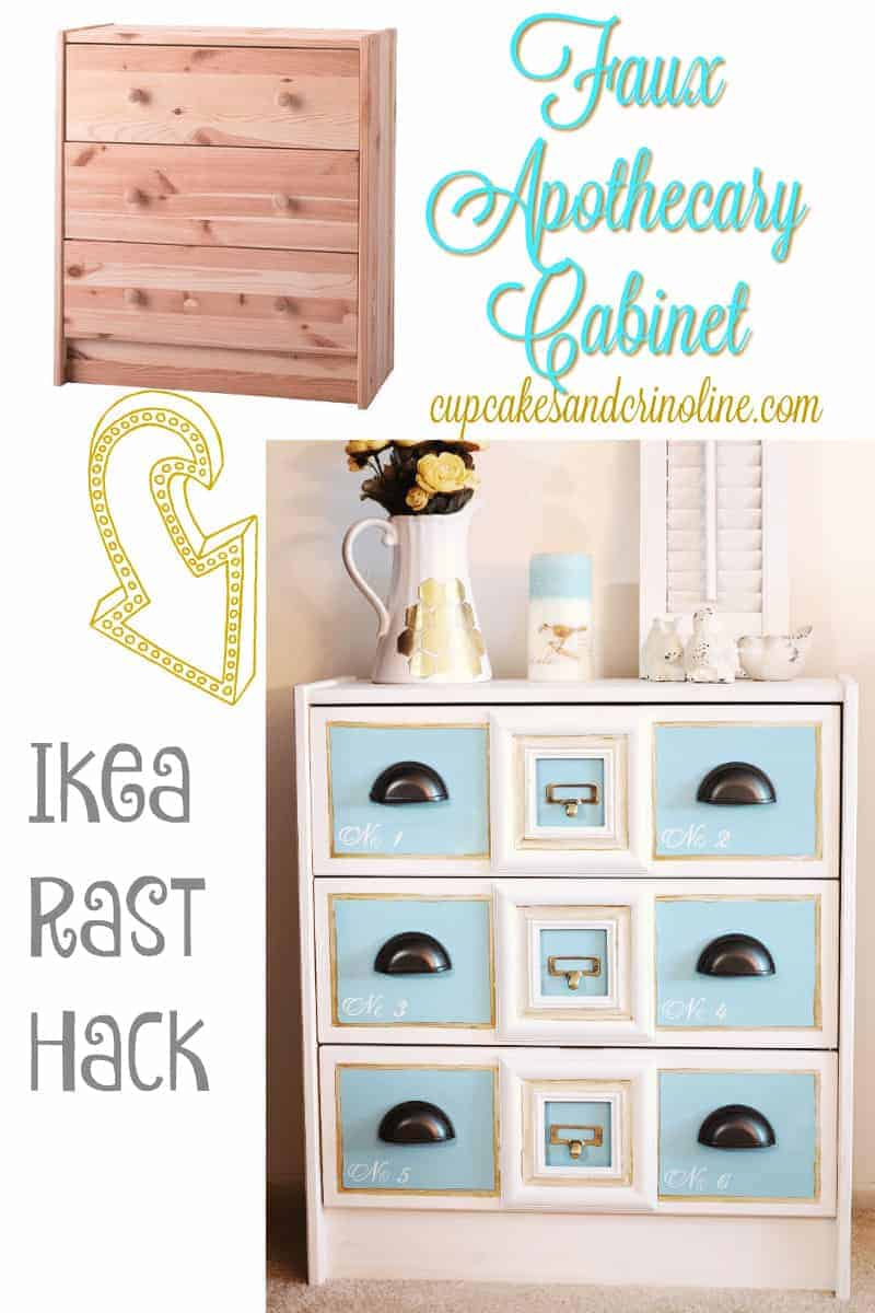Faux Apothecary Cabinet   The How-To Home