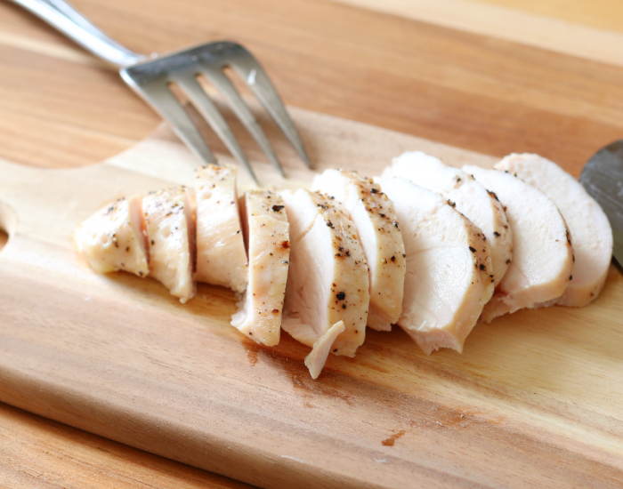 Fresh baked and sliced chicken #deliciousgametime