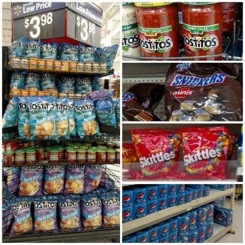 How to build a snack stadium snacks
