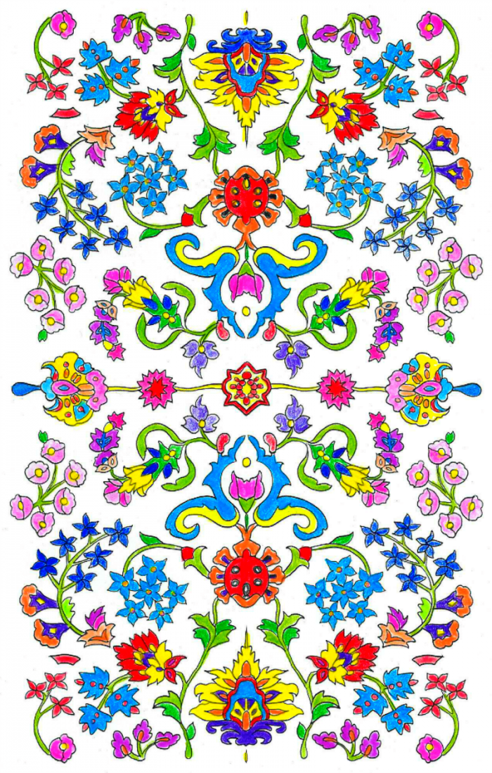 Coloring Page scanned resized 800 x 1256