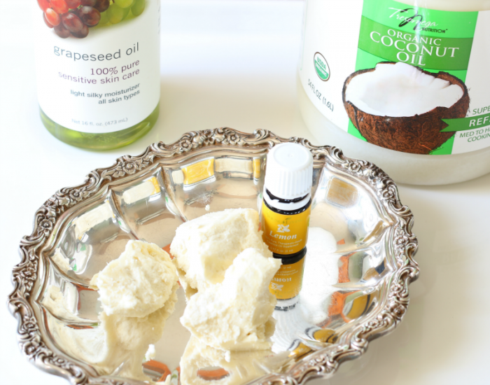 Whipped all-natural body butter-great for hydrating your skin naturally - drink it in! cupcakesandcrinoline.com