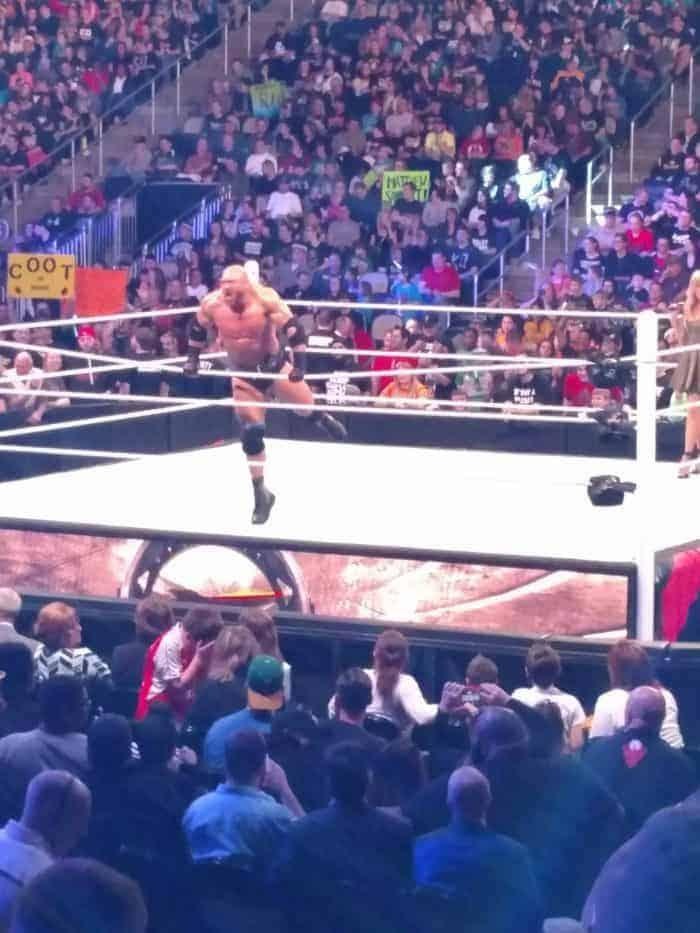 WWE Monday Night Raw Pittsburgh March 14, 2016