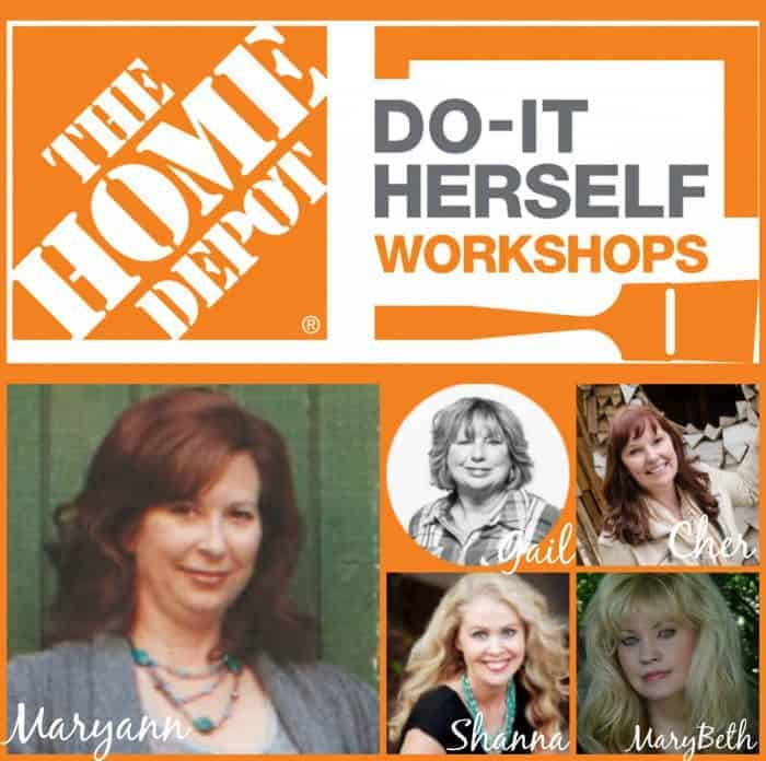 The Home Depot Do-It Herself Workshops