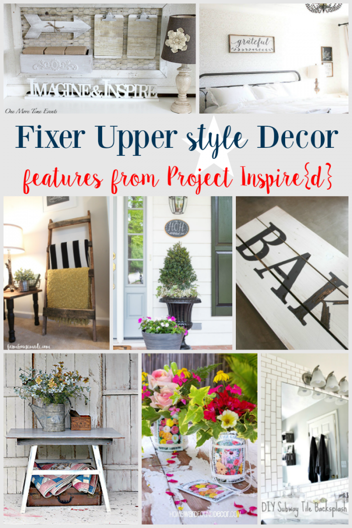 Fixer Upper Inspired Decor