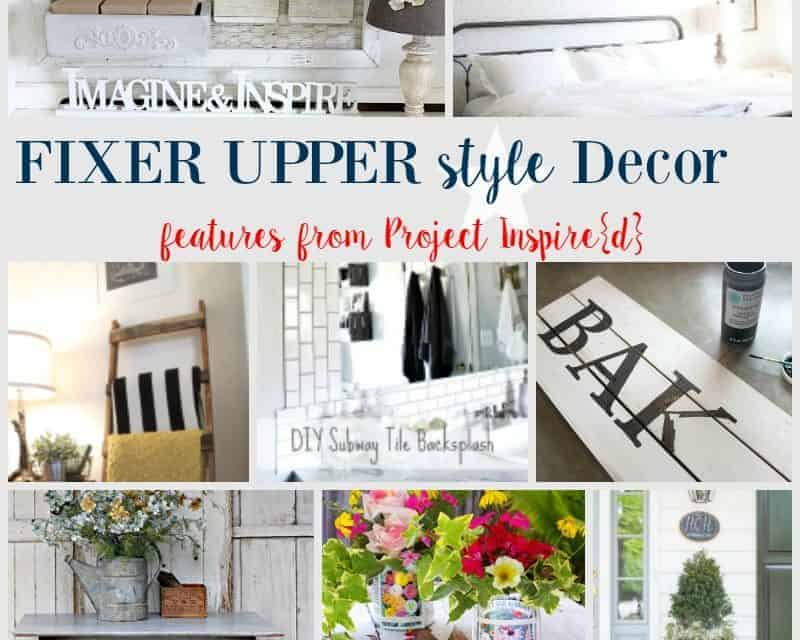 Fixer Upper Style Decor