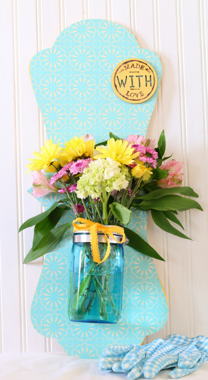 Wall Hanging Mason Jar
