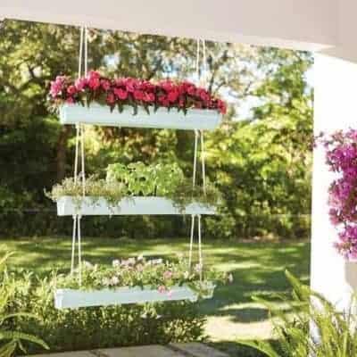 DIY A Hanging Gutter Planter and Sign Up for a DIH Workshop