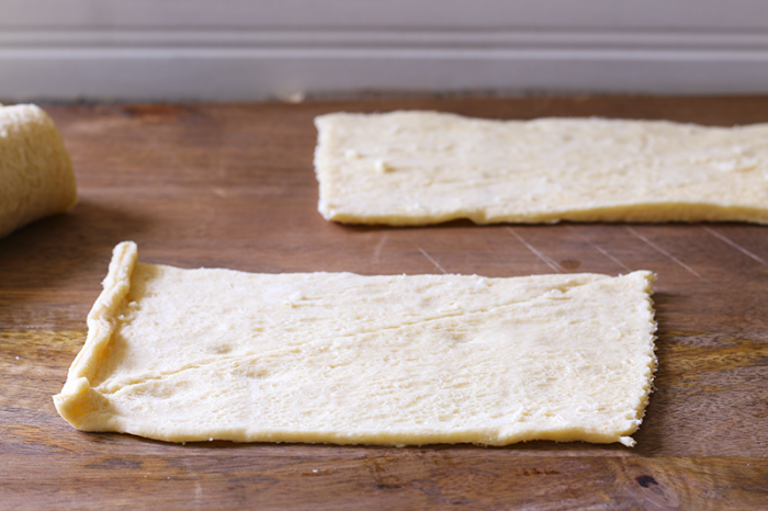 1 Easy Blueberry Cheese Danish - dough