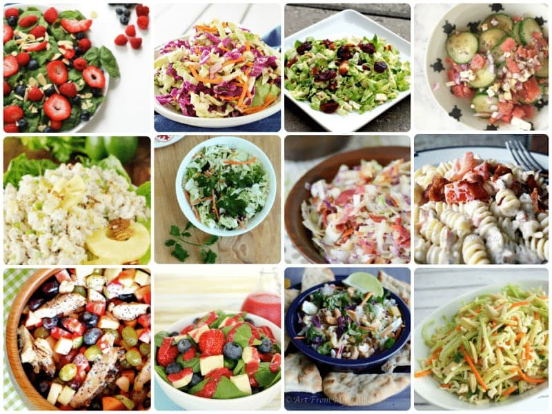 12 Picnic Perfect Summer Salads from Project Inspired
