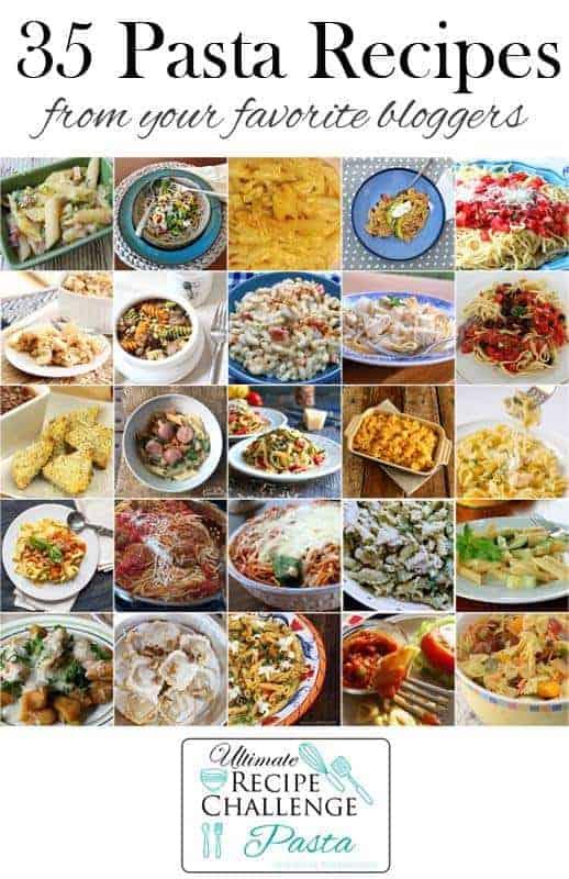 Ultimate Recipe Challenge - Pasta 25+ recipes