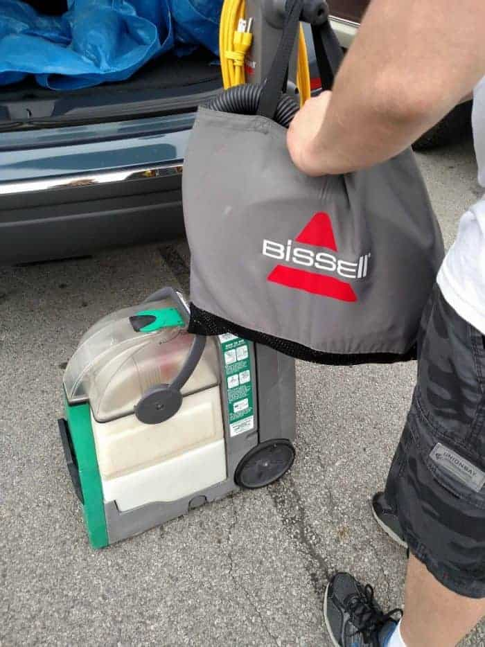 BISSELL Big Green Rental - Lowe's Parking Lot