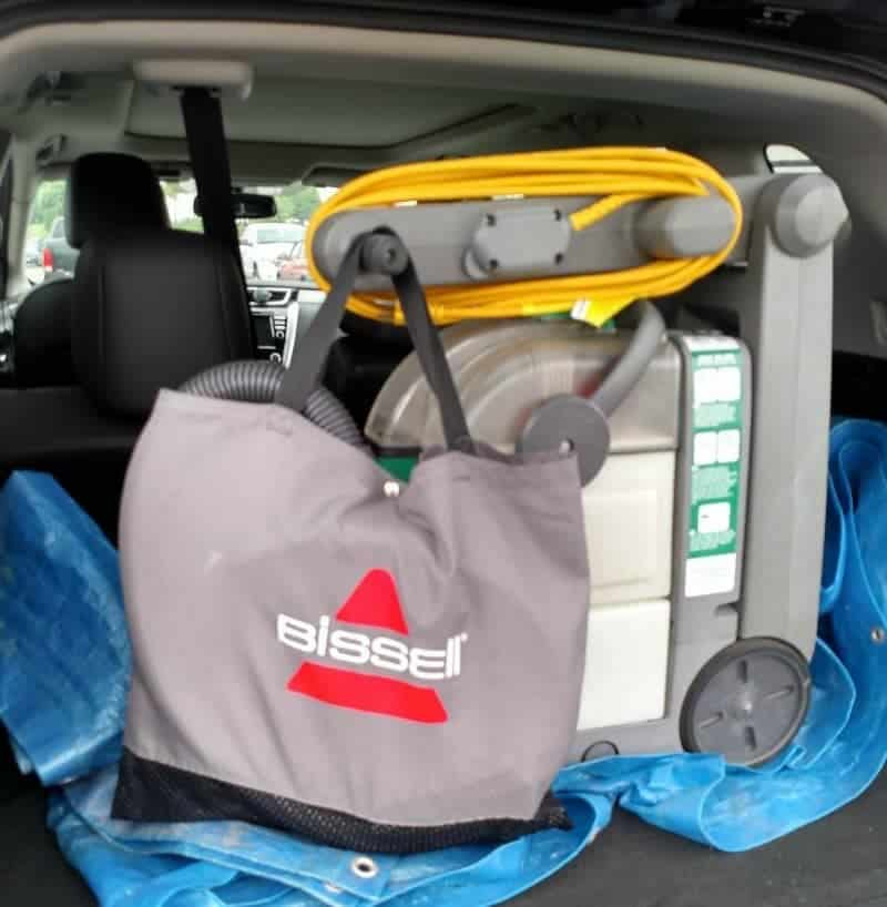 BISSELL Rental in trunk