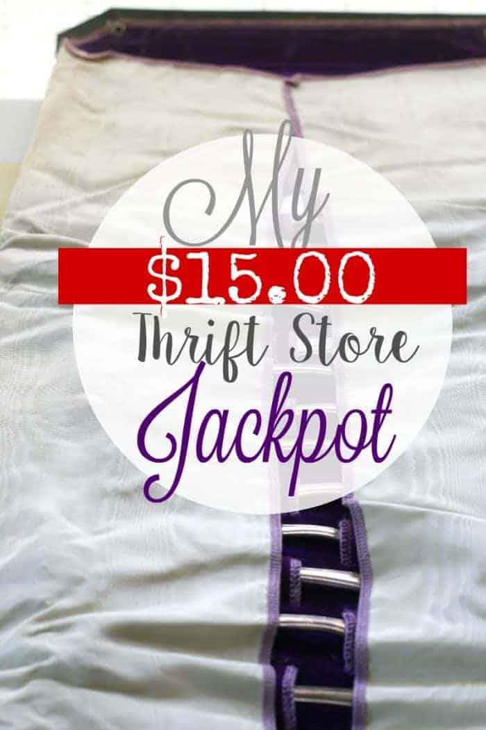 My $15.00 Thrift Store Jackpot 2