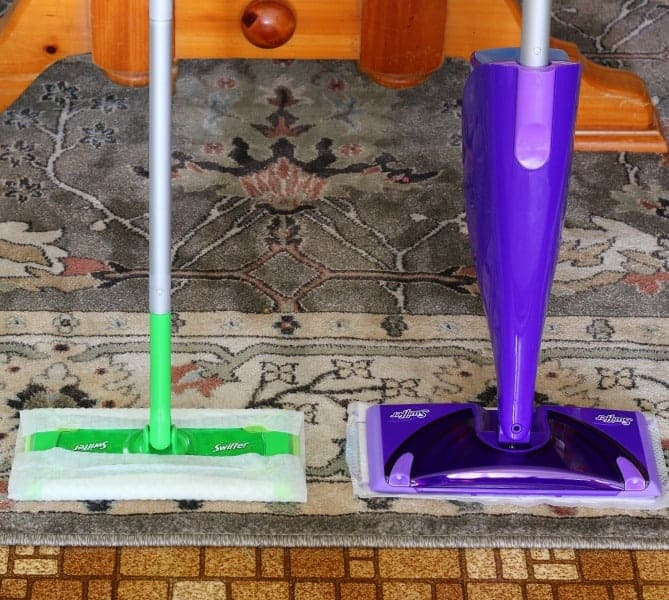 Swiffer Sweeper and Swiffer Wet Jet