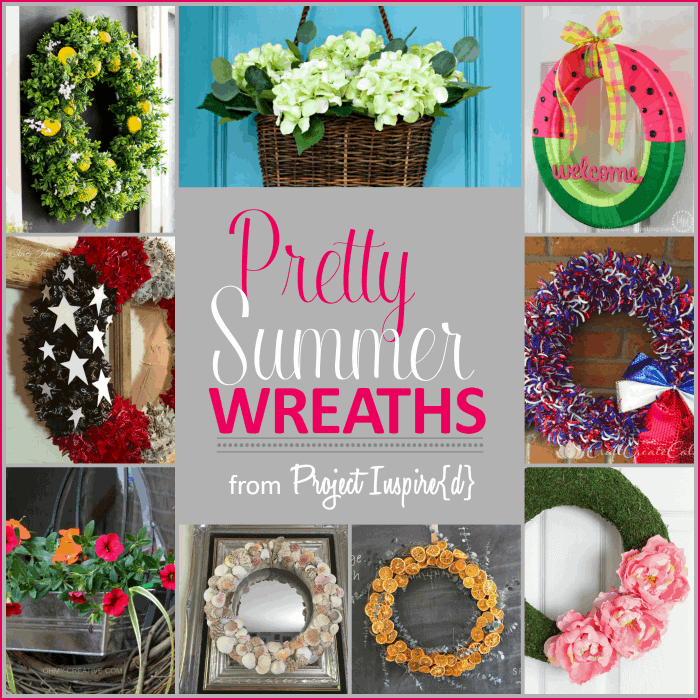 Pretty Summer Wreaths - Project Inspire{d} Features