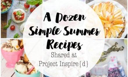 Simple Summer Recipes