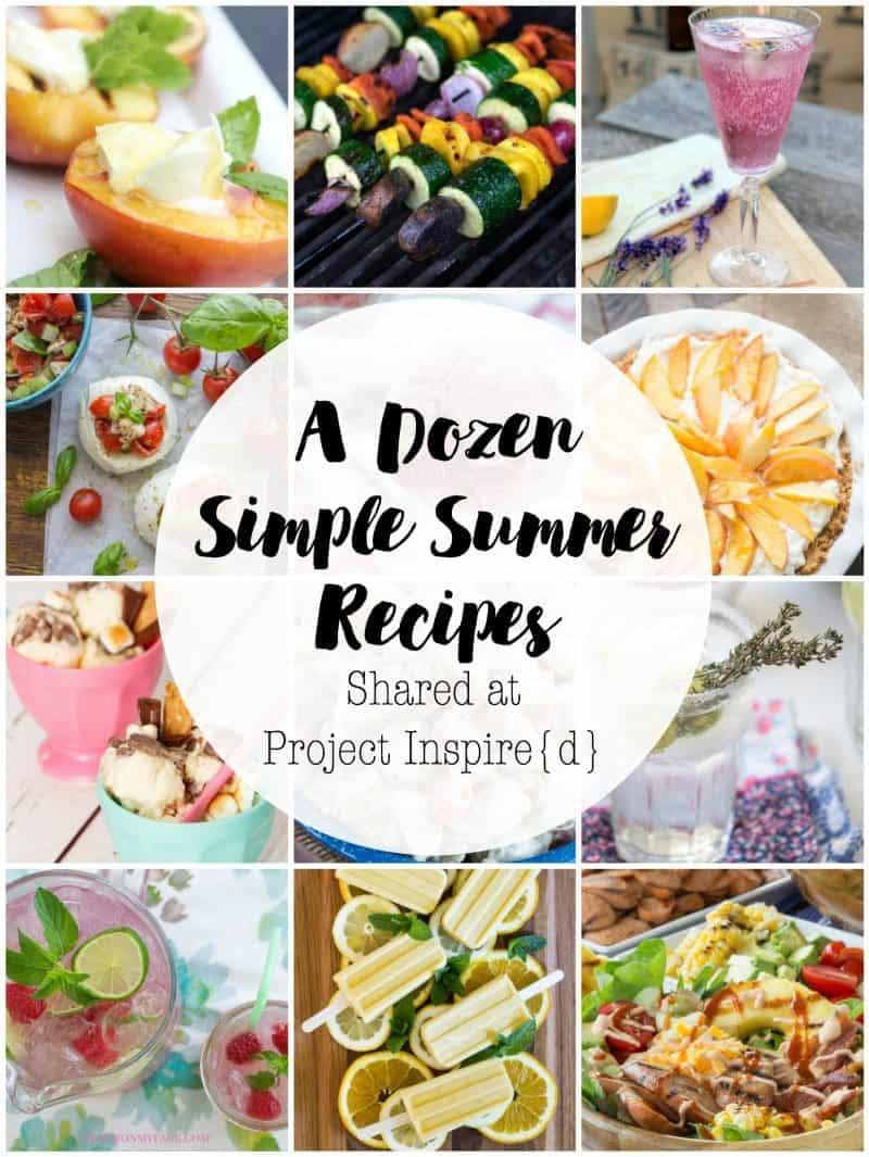 A Dozen Simple Summer Recipes FB