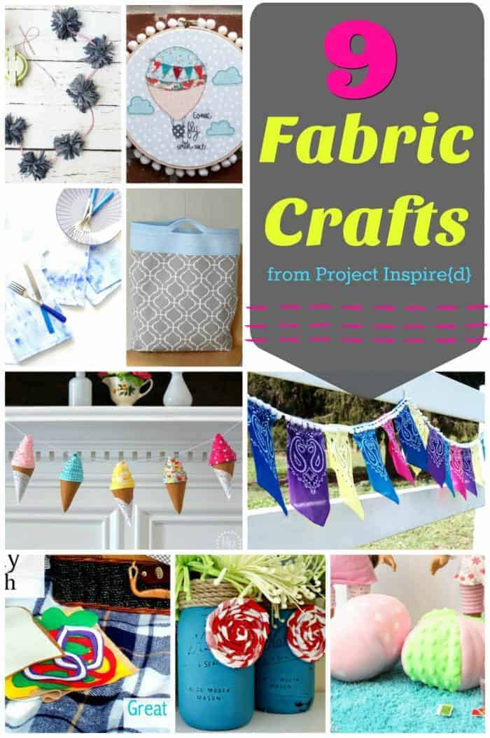 Fabric Crafts - Project Inspire{d} Features