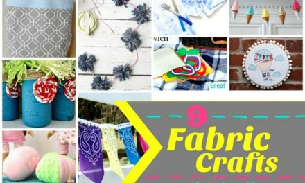 9 Fabulous Fabric Crafts