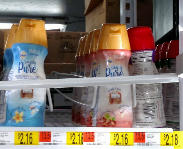 International Delight Simply Pure available at Walmart