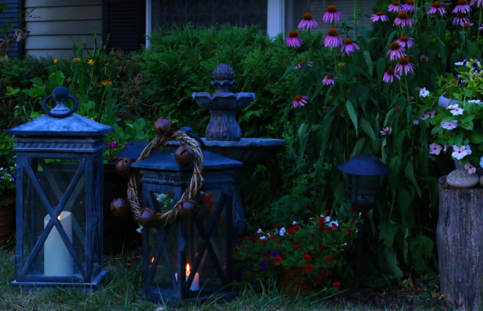 Lanterns on the lawn two