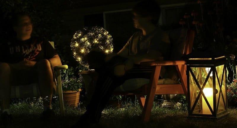 J and J celebrating summer nights