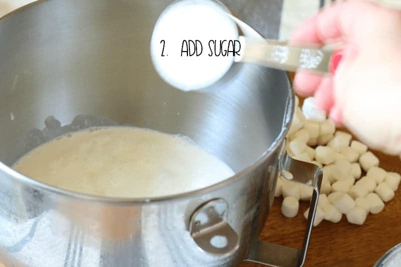 2. Add Sugar