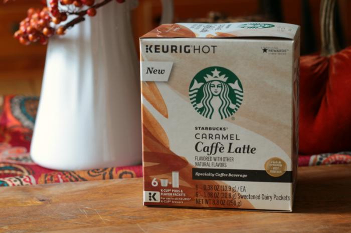 Box of Keurig Hot - Starbucks Caramel Caffe Latte. www.cupcakesandcrinoline.com