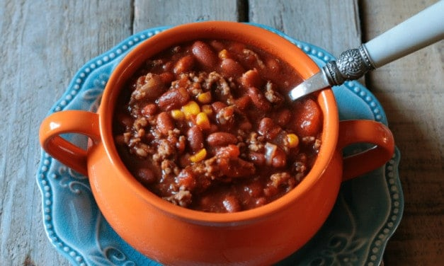 Easy and Delicious Crock Pot Chili
