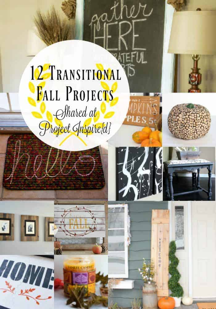 12 Transitional Fall Projects