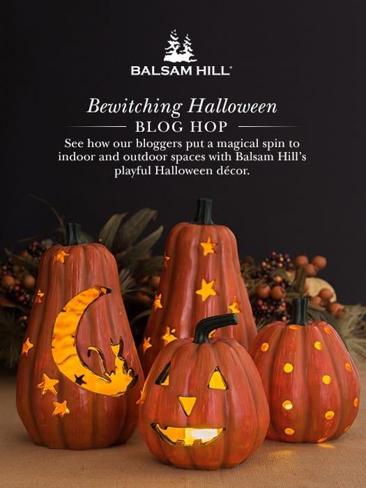 Halloween Blog Hop Sponsored by Balsam Hill