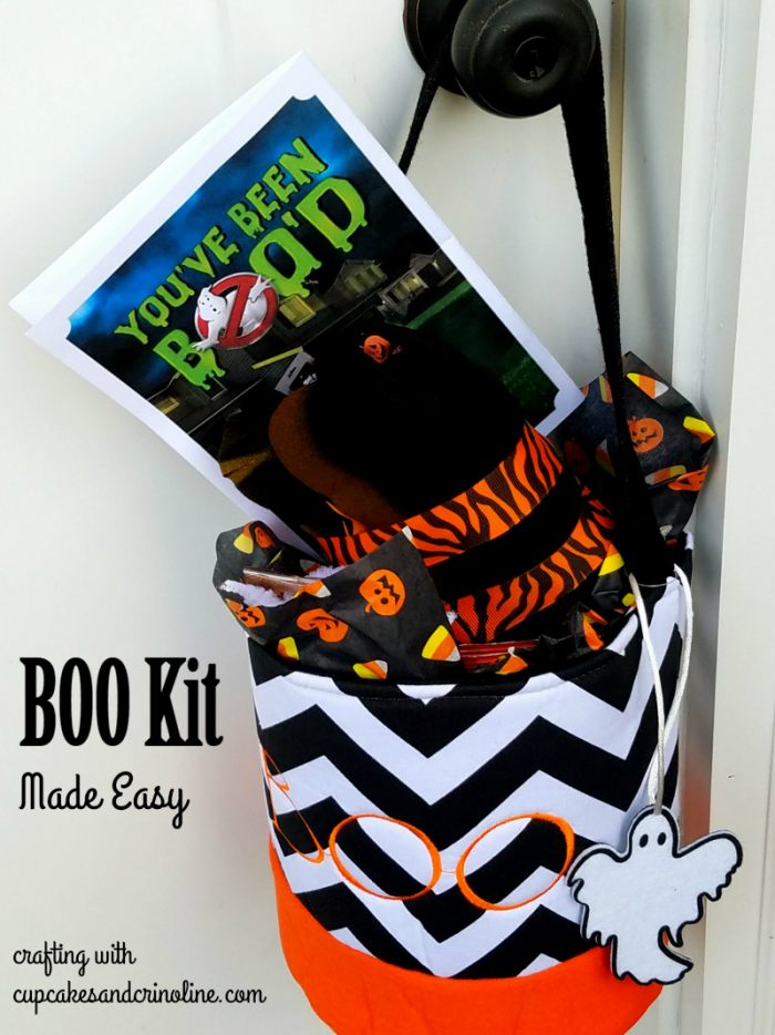 How to put together a BOO kit the easy way. www.cupcakesandcrinoline.com